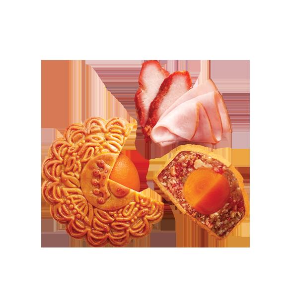 Jambon  Xá Xíu (4 Trứng)