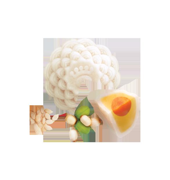 Bánh Dẻo hạt sen  hạt dưa (1 Trứng)