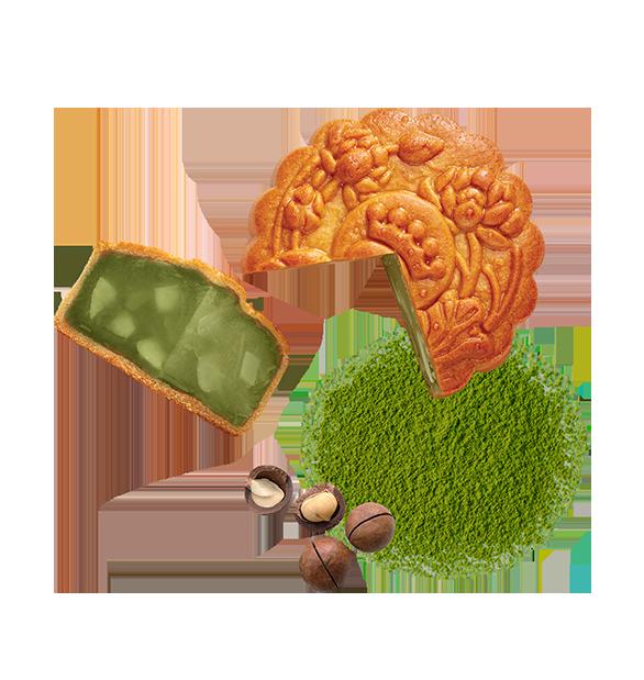 Trà Xanh Hạt Macadamia