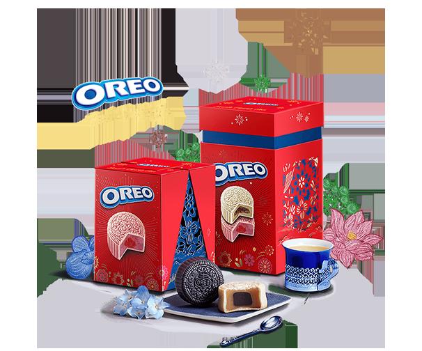 Oreo Moocake 4 Bánh